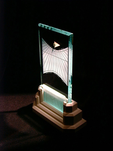 The Spectra sundial - elegant and precise